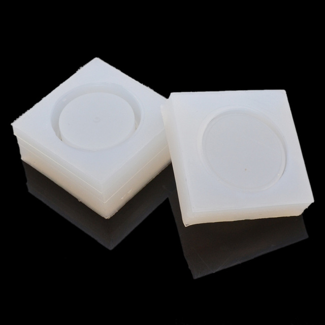 Lychee Clear Silicone DIY Storage Box Mould Round Trinket Box Mold For  Epoxy Resin Jewelry Making