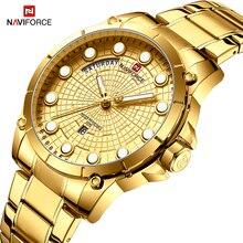 Nouvelle montre professionnelle créative NAVIFORCE pour hommes Sport militaire montre bracelet à Quartz étanche montre bracelet pour hommes montres Relogio Masculino