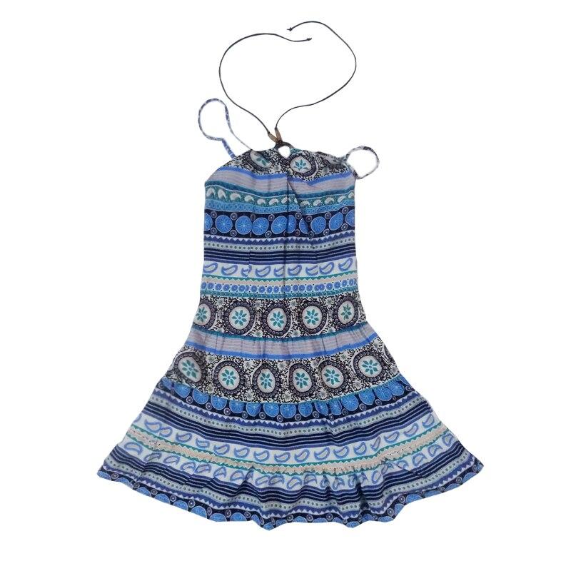 Style National Grand Filles Plage Robes Mignon Doux Mexicain Filles Slip Robe Casual Vêtements D'été