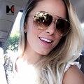 SHAUNA Piloto óculos de Sol Óculos de Armação de Metal Das Mulheres Do Vintage Marca Designer Driving Eyewear Clássica Homens Aviador Óculos De Sol UV400