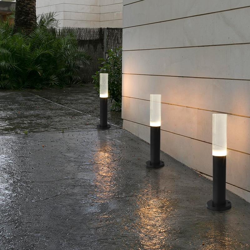 Lawn lamp LED street light acrylic light europeanism courtyard lights garden outside landscape in the park street lamps ZSH5071