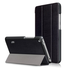 PU Leather-based Stand Cowl Case for Huawei Mediapad T3 7.zero BG2-W09 7 Inch Pill + 2Pcs Display Protector