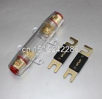 ANL Fuse Holder Distribution INLINE 0 4 8 GA GOLD PLATED FREE 150A FUSE SKFH099