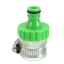 Mrosaa Kitchen Faucet Accessories Green Water Faucet Tap Hose Adapter Rubber Nozzle Adjustable Pipe Connector for 14-24mm Tap