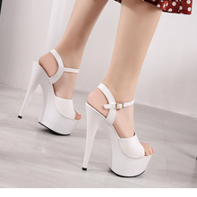 Sandals Shoes Woman Clear Heels Platform 2019 Beach Sexy