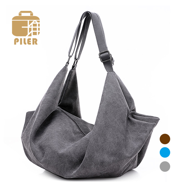 dcd41129a7 High Quality Canvas Crossbody Bags Women Fashion Brand Designers Shoulder Bag  Hobos Back Pack Ladies Shoulder Messenger Bag