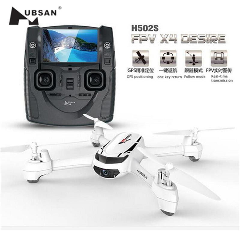 H502S Hubsan X4 FPV Quadcopter GPS con 720 P HD Fotocamera Drone RC Helicopter Aircraft Una Chiave di Ritorno Senza Testa Follow Me modalità