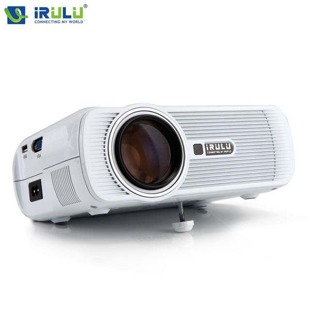 IRULU BL-80 3D LED Mini Proyector FHD 1080 P Proyector Portátil 800x480 Proyector Multimedia HDMI Reproductor Multimedia de Tu Hogar