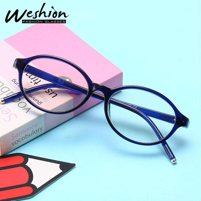 Anti Blue Light Blocking Filter Reduces Glasses Transparent Computer Optical Frame Children Eyeglasses 2018 Digital Clear UV400