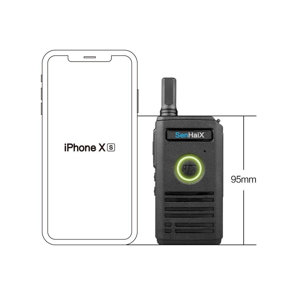 Image 5 - 1 piece Ultra Slim two Way Radio With Breathing Lights UHF 400 470 MHz Mini Walkie talkie 16CH 3 5km walkiex2dtalkie Senhaix-in Walkie Talkie from Cellphones & Telecommunications