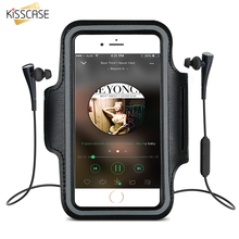 KISSCASE Sports GYM Armband Pouch Case For iPhone 5 5S SE 5G 5C 4S 4 Waterproof Phone Bag Running Arm Band  For iPhone SE 5S 5 8