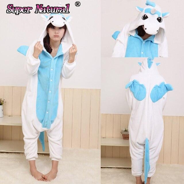 867de5fa0 HKSNG Pink Purple Blue Animal Kigurumi Christmas Animal Pajamas ...