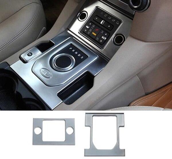 Aliexpress Com Buy Abs Chrome Car Gear Shift Knob Cover Trim Car