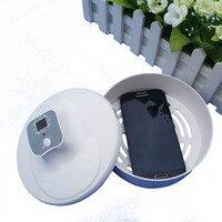 A lâmpada ultravioleta caixa de esterilização pode ser utilizado para a esterilização de teclado  telefone celular  assistir e outros artigos.|Esterilizadores UV domésticos| |  -