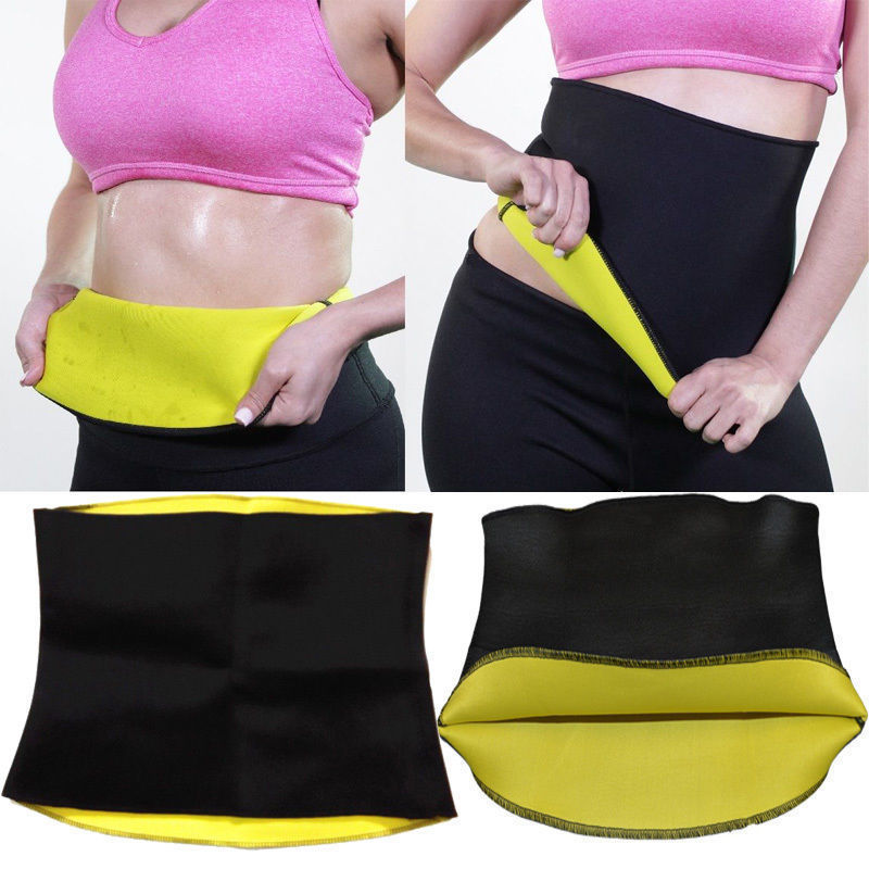 New Keep Unisex Health Belt Neoprene Slimming Body Yoga Sweat Shaper Wrap Sauna Waist Slimmer Controling Weight Cut Down