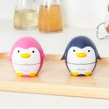 Cute cartoon penguin kitchen timer time mechanical alarm to remind the 8*7.5CM