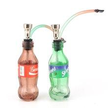 JIJU Mimi Smoke Cigarette Bubblers Fashion Design Glass Water Pipe Cigarette Filter Tips Glass Pots Hot Search JL-135F