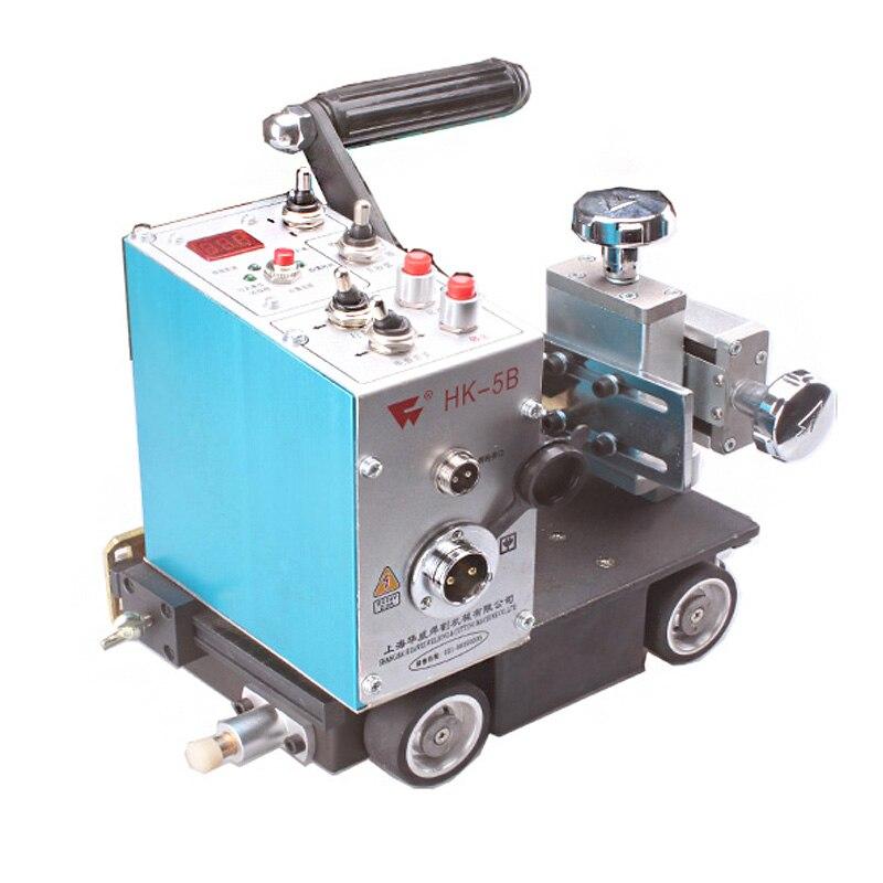 Automatische Schweißen Auto Automatische Filet Schweißen Auto Filet Schweißen Maschine 24V Drive Motor Draht Schneiden Linie Schweißen Werkzeuge HK-5B