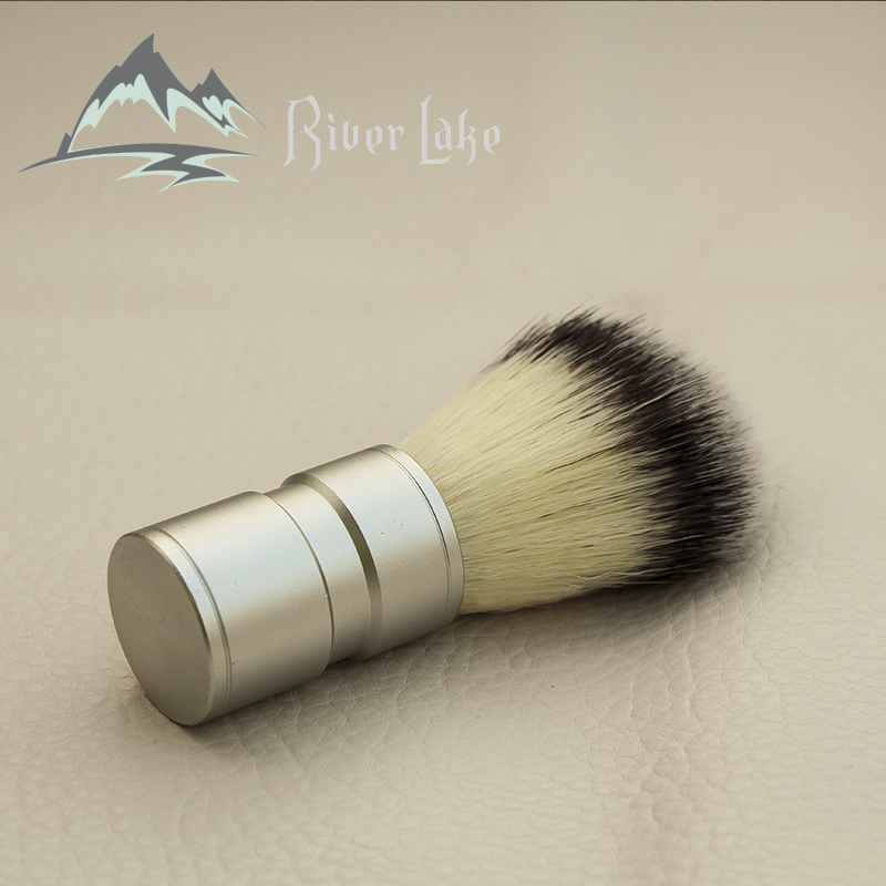 2019 New Men's Gift Silvertip Badger Hair Shaving Brush Stainless Metal Handle Barber Tool Comfortable Shave