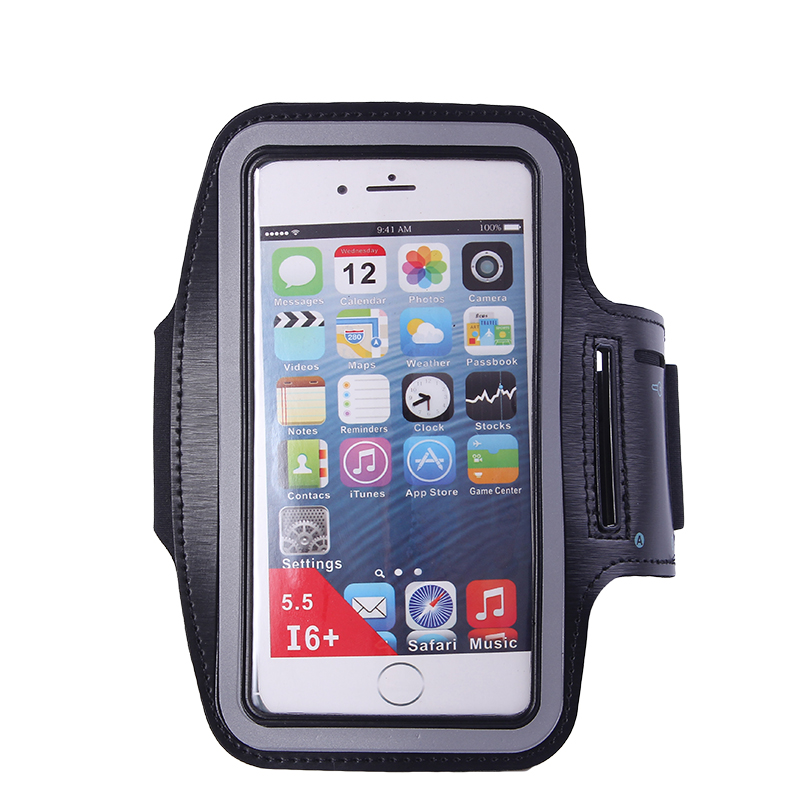 "Купить с кэшбэком Arm Running Bag 5.5"" Waterproof Running Accessories Phone Bag for Outdoor Gym Phone Cover for iPhone 8 Plus Armband   WX071"
