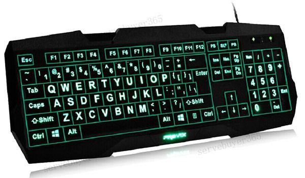 a51ce4b980d These large print keyboards are perfect for those who just have a hard time  seeing the existing commands on their keyboards.