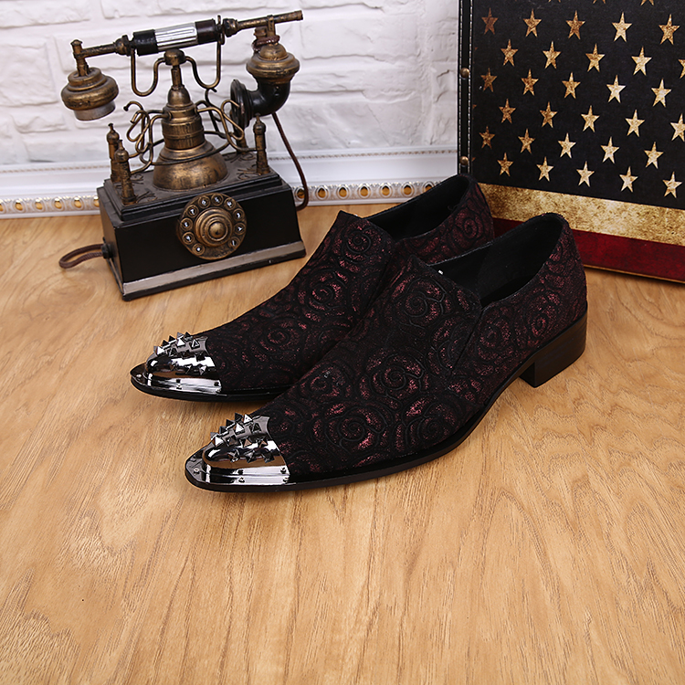 studs iron toe mens wedding derby shoes 2018 spring autumn italian fashion design party oxfords shoes slip on mens shoes 2016 luxury mens goodyear welted oxfords shoes vintage boss brogue shoes italian mens dress shoes elegant mens gents shoes derby