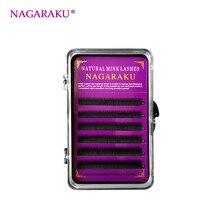 NAGARAKU Eyebrow Extension 0.10 Thickness J Curl 5mm 6mm 7mm Black Color Semi-permanent bottom Flase Eyelashes