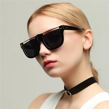 Fashion Designer Brand sunglasses Vintage Women Men Student Big box Vintage Sun glasses Plain Glass Sunglasses Luxury