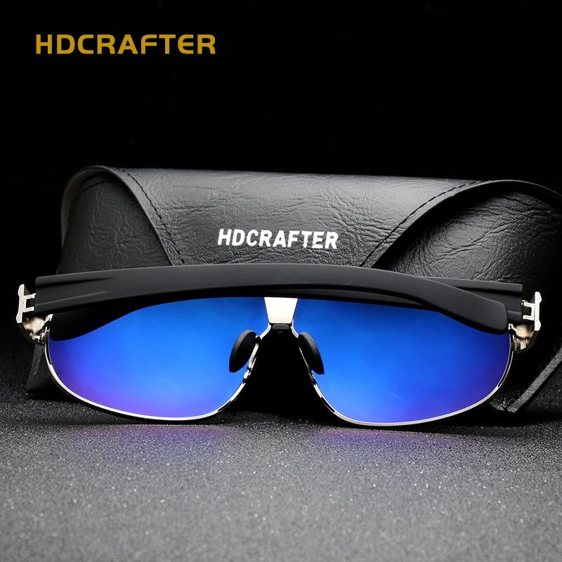 Moda Męskie spolaryzowane okulary przeciwsłoneczne męskie Vintage - Akcesoria odzieżowe - Zdjęcie 3