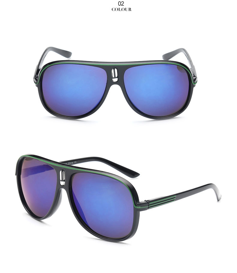 HTB1f0paexTI8KJjSspiq6zM4FXaV - VFound Color Lens Vintage Male Sunglasses Outdoor UV400 Ray Anti-glare Clout Goggles Clear Aviator Mens Sun Glasses 40% 0516L