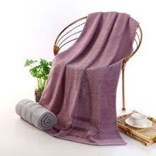 Katoen Effen Badhanddoek Strandlaken Voor Volwassenen Sneldrogende Zachte Dikke Hoge Absorberende Antibacteriële Douche Handdoek