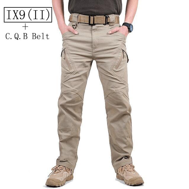 2017 TAD IX9 Militar Tactical Cargo Pants Men Combat SWAT Army Military Pants Sweatpants Man Trousers+ CQB belt