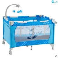 Shenma Многофункциональный раза детские игры кровать, легкий портативный детские кровати, детская кроватка с игрушкой стойки, складной детски