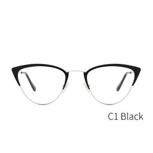 Image 4 - אצטט נשים משקפיים מסגרת משקפיים שקוף עדשת רטרו גבירותיי חתול עין משקפיים קוצר ראיה בציר משקפיים מסגרת # 3743
