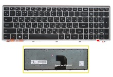 Ssea Новый русский клавиатура RU для Lenovo Z500 Z500A Z500G Клавиатура ноутбука