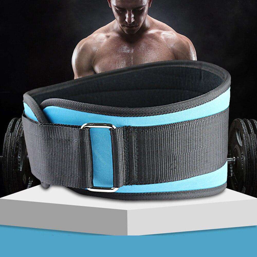 Prix pour Professionnel Fitness Haltérophilie Soutien de Taille En Nylon Respirant Hommes Femmes Sport Formation Taille Brace Ceinture Posture Correcteur