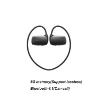 Latest Popular Sports Wireless Bluetooth Wireless Headset MP3 Player WS615 8G Treadmill Mp3 Music Player Headset