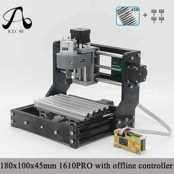 CNC 1610 PRO GRBL Diy Mini CNC Machine with Offline Control Board,3 Axis Pcb Milling Machine ,Wood Router Working Area 16*10cm - DISCOUNT ITEM  25% OFF All Category