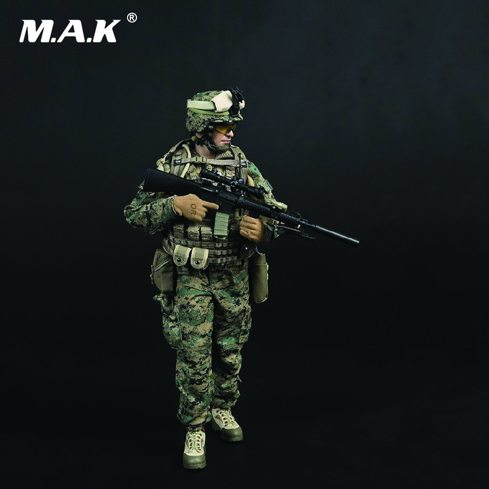 1/6 Scale Solider Action Figure Model Toys US Marine Corps SS066 USMC 3.0 Model Gifts Collections ss soldierstory1 6 us forces in afghanistan 75th ranger model12inch action figure doll the finished product