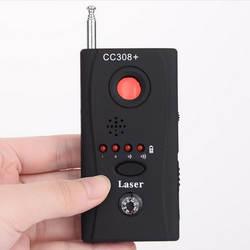 Новый CC308 + Анти-шпион радиочастотный сигнал обнаружитель подслушивающих устройств мини-беспроводная камера спрятанная линза радиоволны