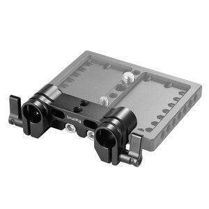 Image 4 - SmallRig クイックリリースのデュアル 15 ミリメートルロッド一眼レフカメラケージ 15 ミリメートル LWS ロッドクランプシステム 1943
