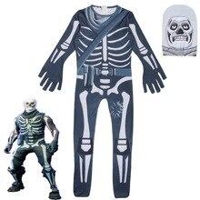Ninjago череп Trooper кожи украшения обувь для мальчиков характер клоун косплэй одежда костюмы на Хэллоуин малыш бэтвечерние мен партии забавная