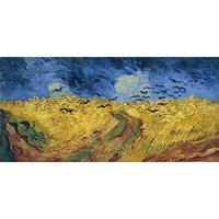 High quality Vincent Van Gogh modern art Wheat field with Crows Oil paintings reproduction hand painted