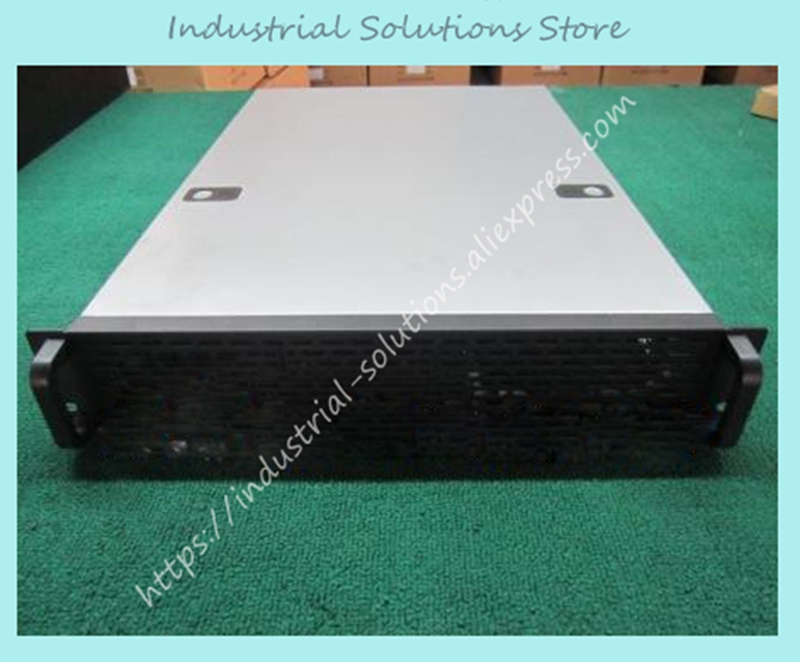New DP216 2U Computer Case 10 Hard Drive 2U Server Computer Case Industrial Computer Case Big Power Supply Large-Panel