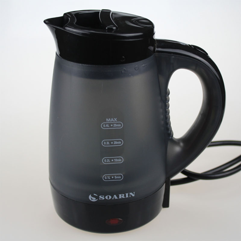 Adoolla 0.4L Mini Portable Plastic Electric Kettle Electric Water Kettles For Home Travelling