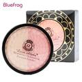 Mel bluefrag 5g rosto maquiagem meteoritos pressionado em pó 13 cores profissional rosto iluminando pó marca de maquiagem corar