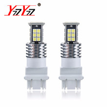 2PCS T15 W16W 921 912 Led Turn Signal Lamp 1200Lm 3030 SMD LED CANBUS Interior Light Car Backup Reserve Lights Bulb Tail Lamp(China)
