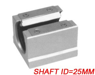 Free Shipping 10PCS/Lot SBR25UU CNC Linear Ball Bearing Support Unit Pillow Blocks  With Platen 25mm SBR Series free shipping 2pcs lot sc35vuu sc35suu linear case unit bearings