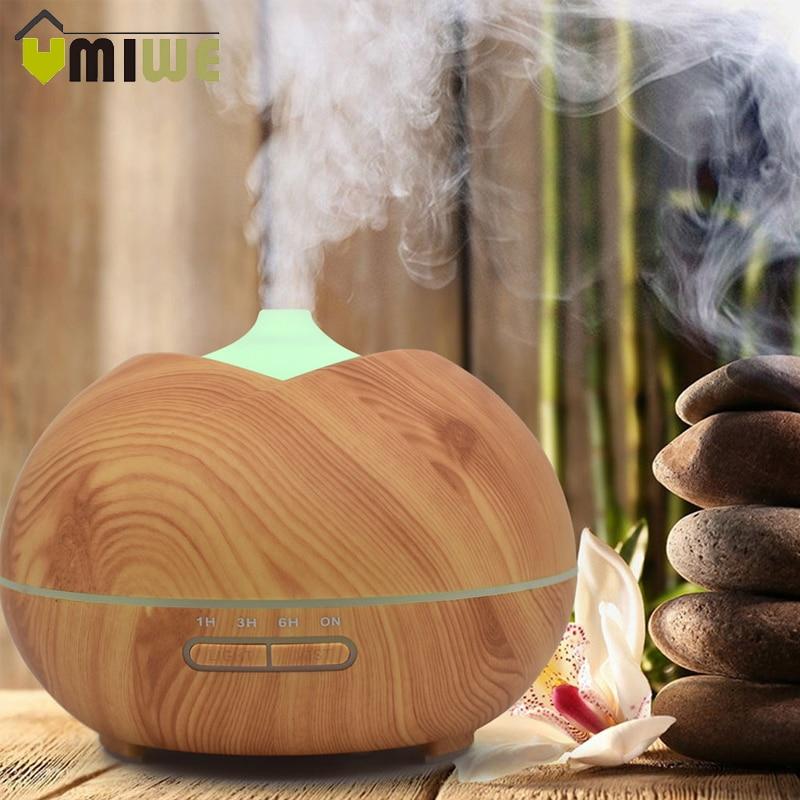 все цены на 400ml Air Humidifier Cool Mist Maker Humidifier Ultrasonic Aroma Essential Oil Diffuser for Office Home Bedroom Study Yoga Spa онлайн