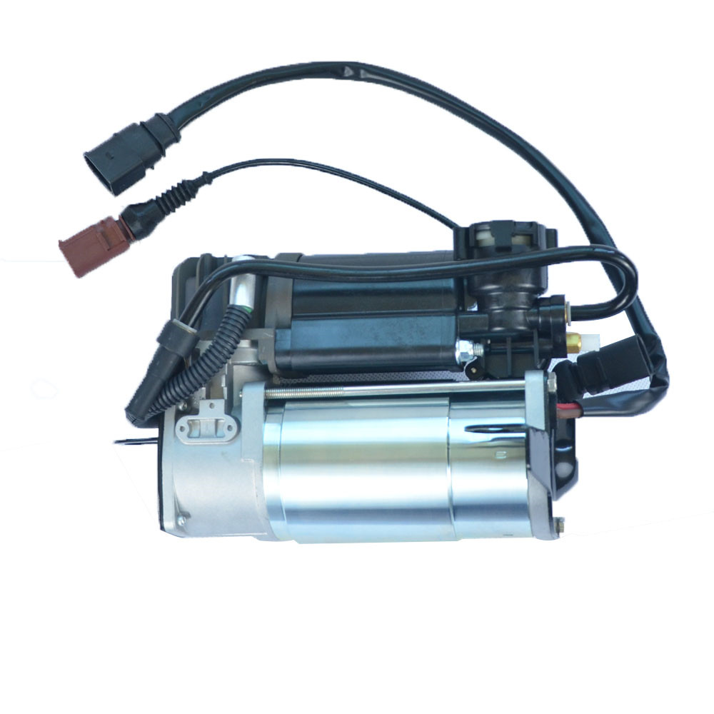 New Air Suspension Compressor For <font><b>Audi</b></font> <font><b>A8</b></font> S8 <font><b>D3</b></font> <font><b>4E</b></font> 6/8 Cylinder 4E0616007 4E0616007B Air Suspension Pump Air Pump image